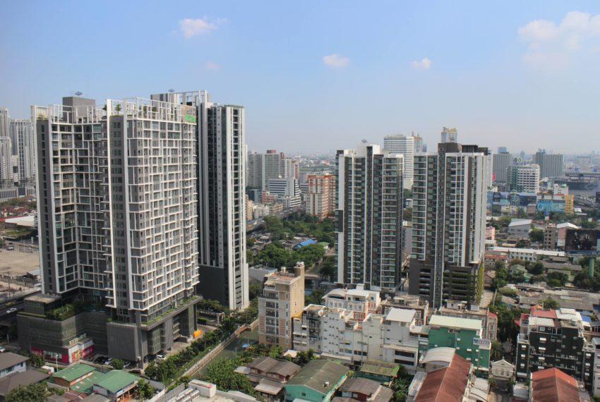 Rhuthm Asoke - 1-bedroom-Rent-high-floor-nice-view