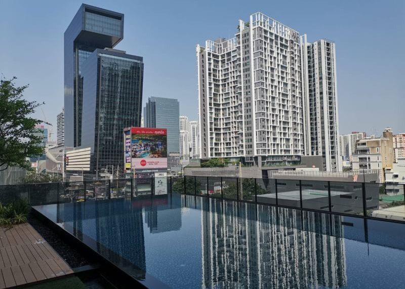 Rhythm Asoke 1-1 bed-1 bath-Swimming pool