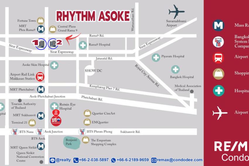 Rhythm Asoke 1 and 2 - map