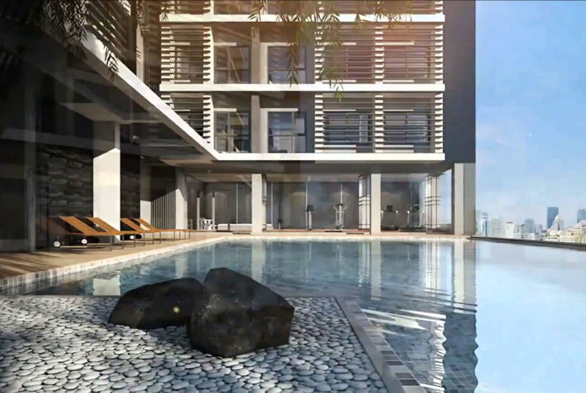 Rhythm Asoke 1 - swimming pool