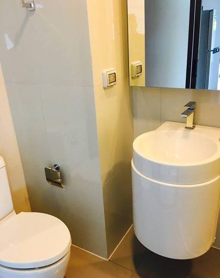 Rhythm Asoke - Stuido - Bathroom
