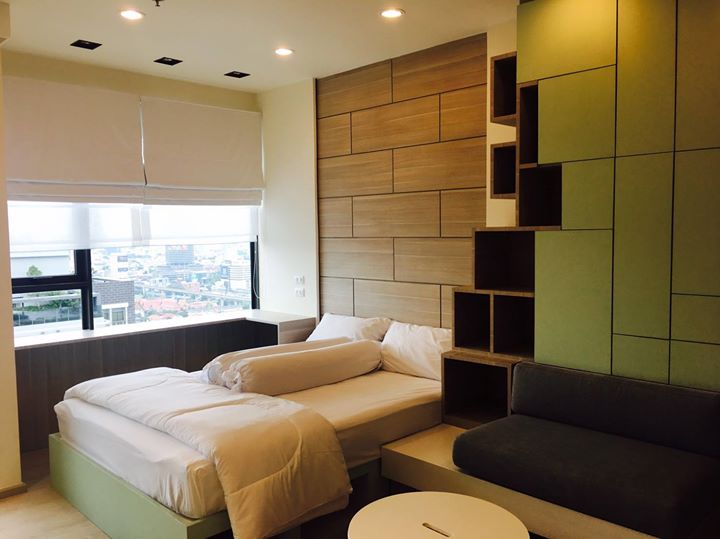 Rhythm Asoke - Stuido - Bedroom