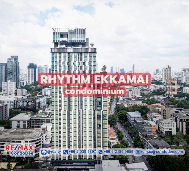 Rhythm Ekkamai - Sukhumvit Condominium Near BTS