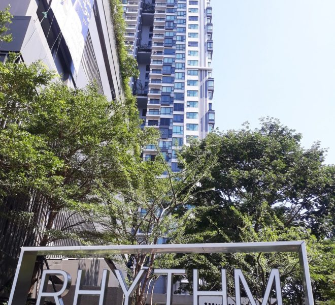 Rhythm Sukhumvit 42 Condo near BTS Condo in Ekkamai Buy condo in Ekkamai Rent condo in Ekkamai 1-bedroom condo 2-bedroom condo