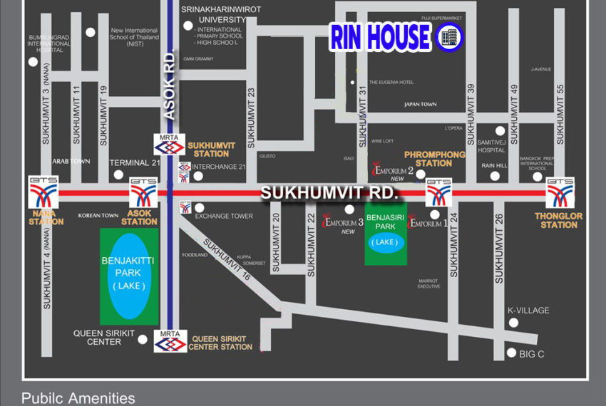Rin House Sukhumvit 39 - map