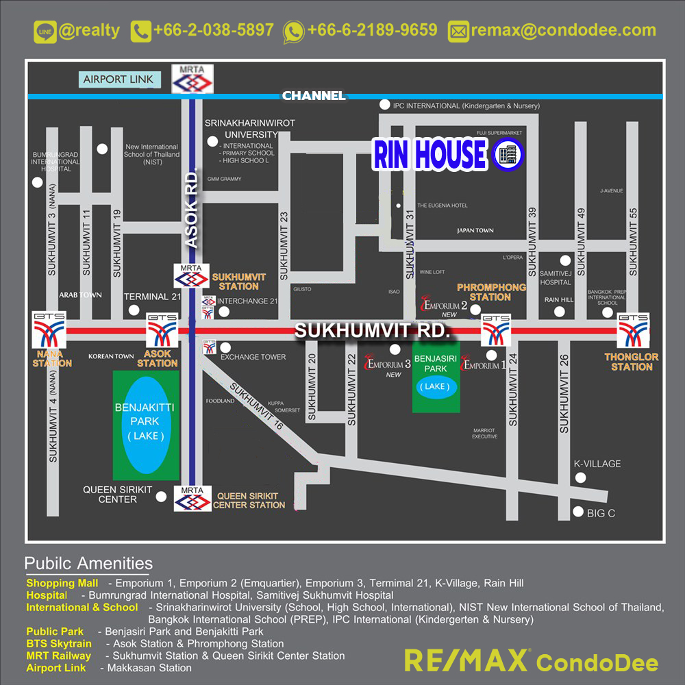 Rin House Condominium at Sukhumvit 39