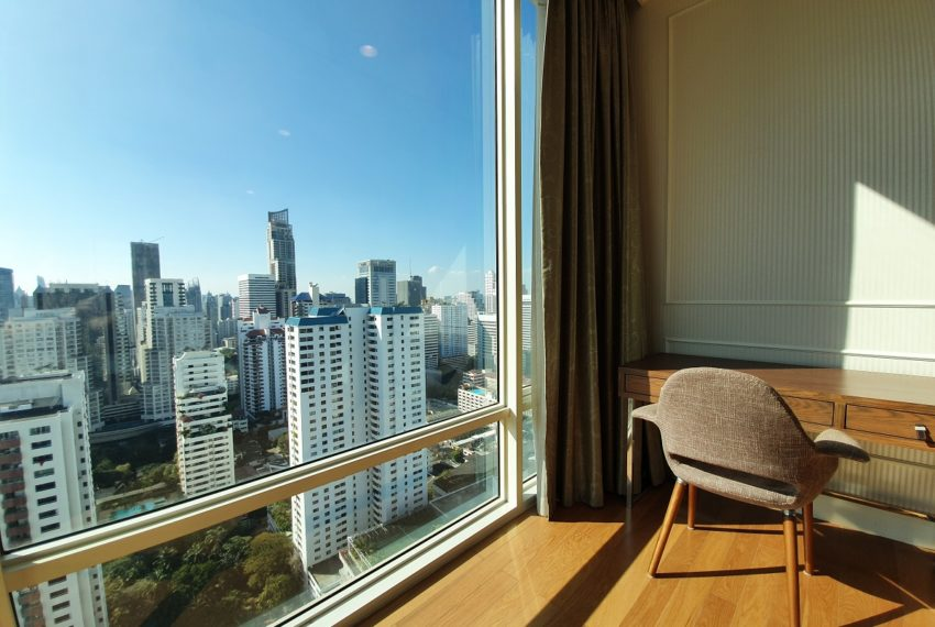 Royce Private Residences 3 Bedroom - Rent - bedroom view