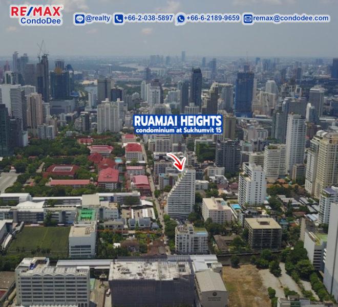 Ruamjai Heights Sukhumvit 15 Condominium Near NIST School and Channel