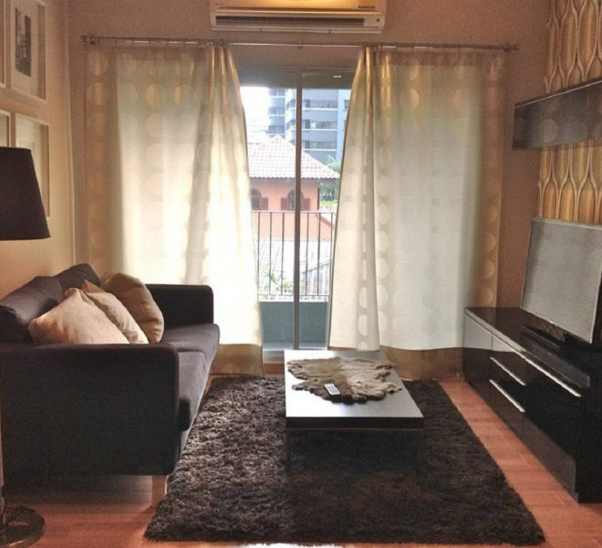 Condo for urgent sale in Prompong - 1-bedroom - nice view - The See Musee