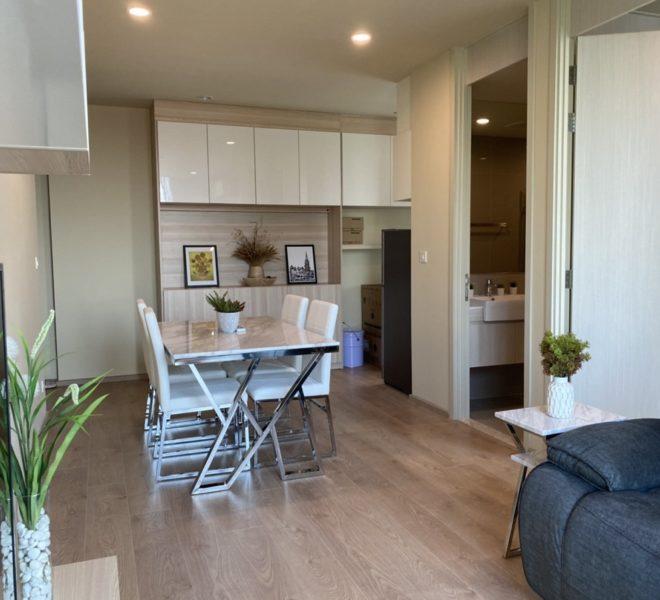 Condo 2-bedroom for sale in Asoke - low-floor - new unit - Noble Recole
