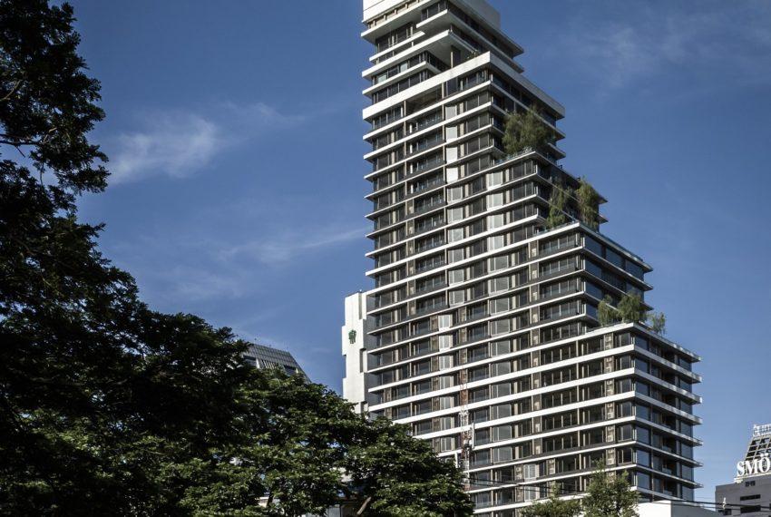Saladaeng One Condominium - building