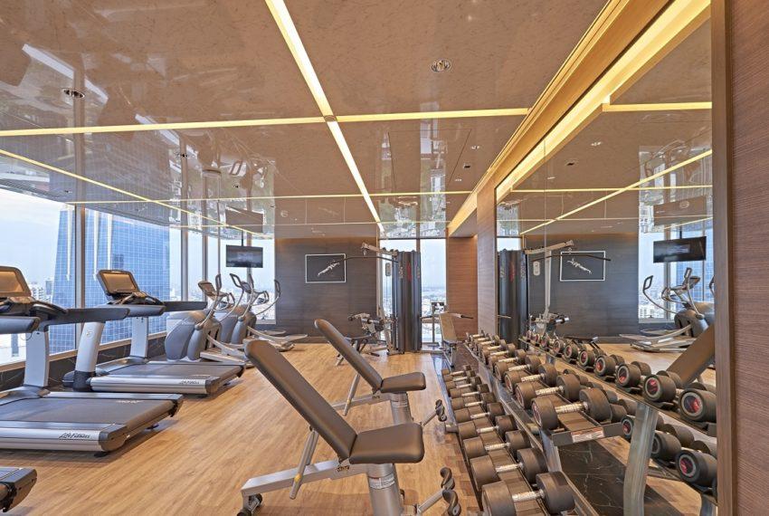 Saladaeng One Condominium - fitness