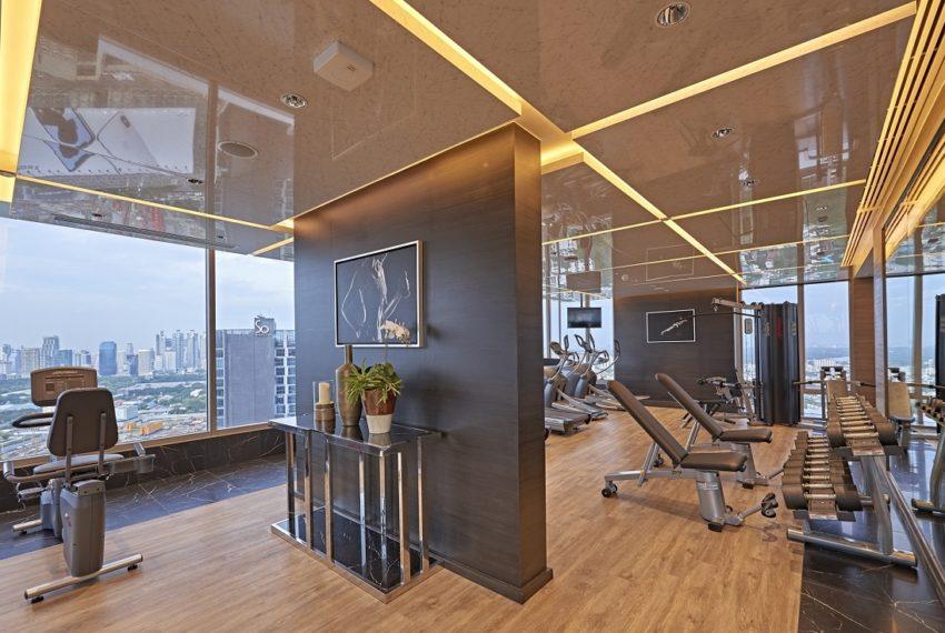 Saladaeng One Condominium - fitness club