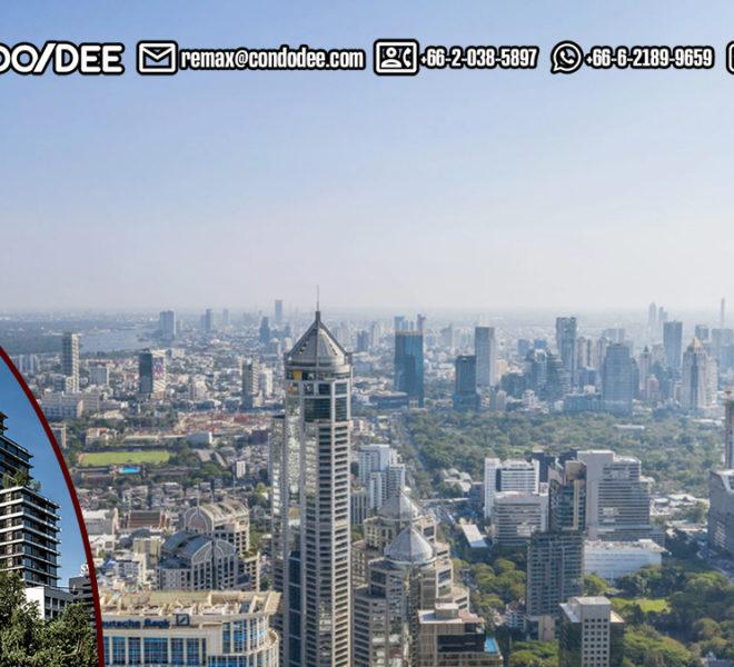 Saladaeng One Condominium - night view