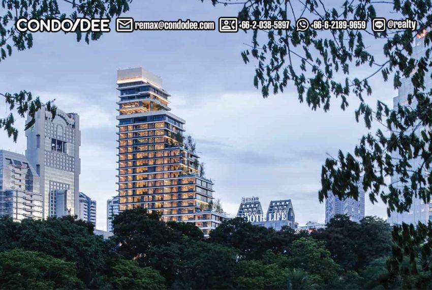 Saladaeng One Condominium - park view