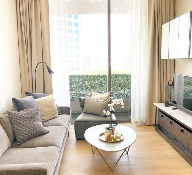 Luxury apartment for sale near Lumpini Park - 1 bedroom - Saladaeng One Condominium