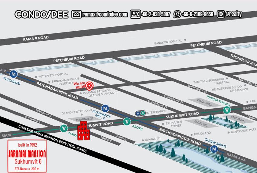 Saranjai Mansion - map