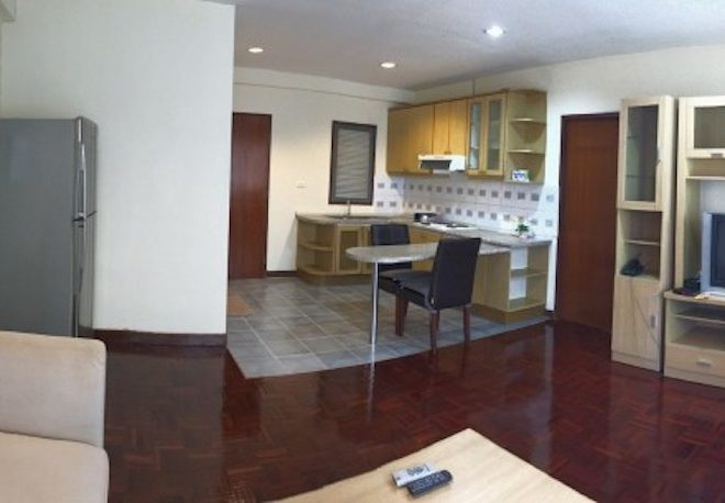 Flat for sale in Sukhumvit 6 – 1-bedroom – high-floor – Saranjai Mansion
