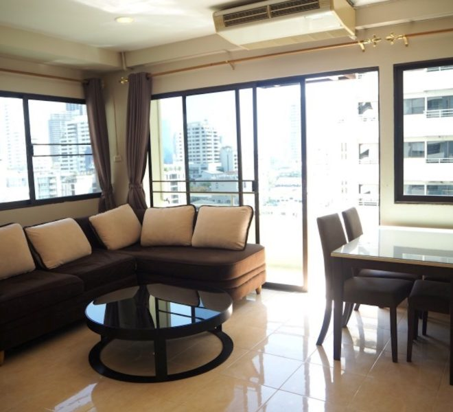 Apartment for sale in Sukhumvit 6 – 1-bedroom – mid-floor – Saranjai Mansion