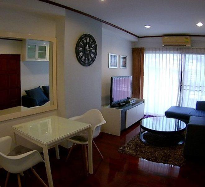 Condo for sale at Sukhumvit 6 - 1-bedroom - low floor - Saranjai Mansion