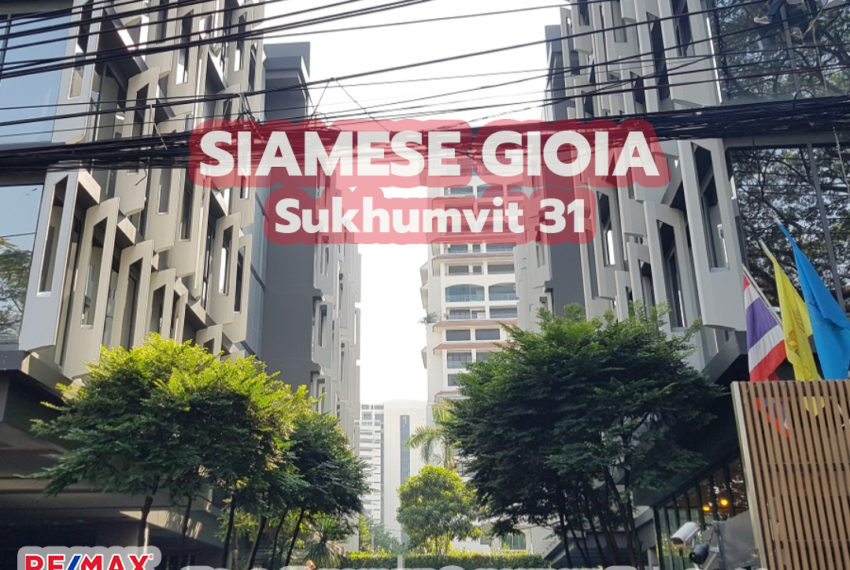 Siamese Gioia Sukhumvit 31 by REMAX CondoDee