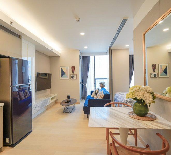 Condo for rent near Queen Sirikit MRT - 1 bedroom - mid-floor - Siamese Exclusive Queens