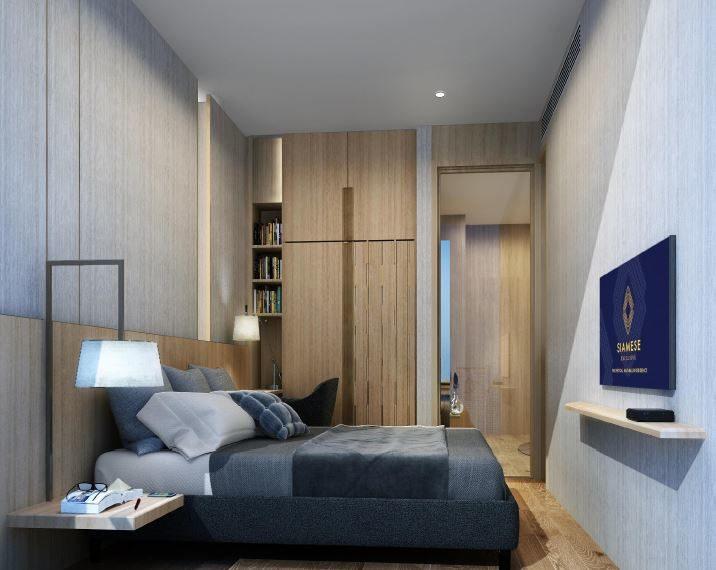Siamese S42 Ekkamai - bedroom 02