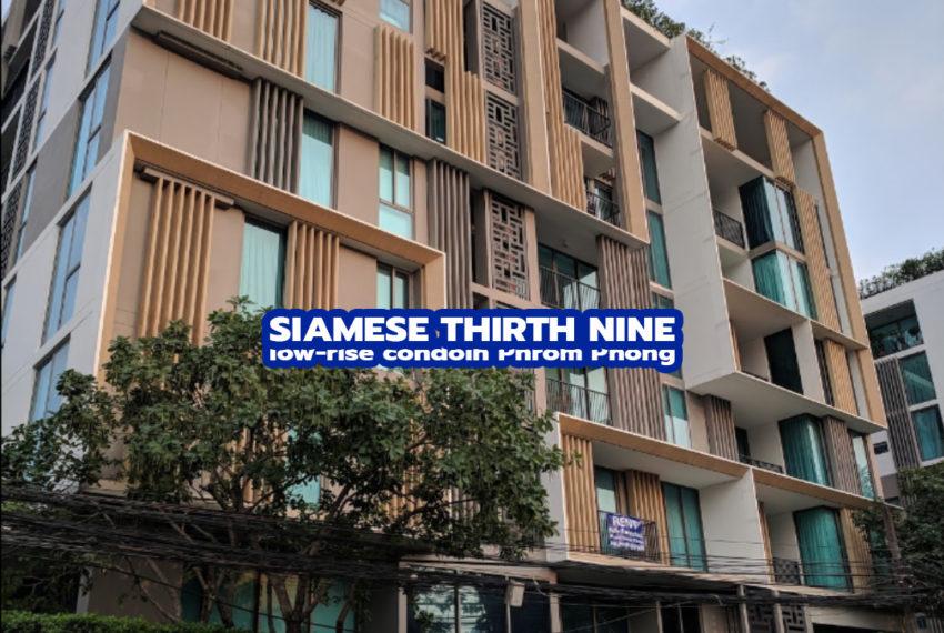 Siamese Thirty Nine cono 1 - REMAX CondoDee