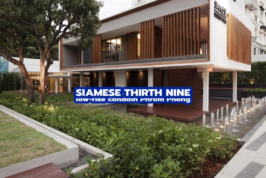 Siamese Thirty Nine cono - REMAX CondoDee