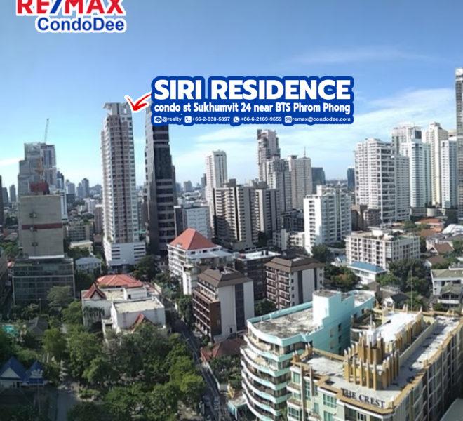 Siri Residence Condominium at Sukhumvit 24 Near BTS Phrom Phong