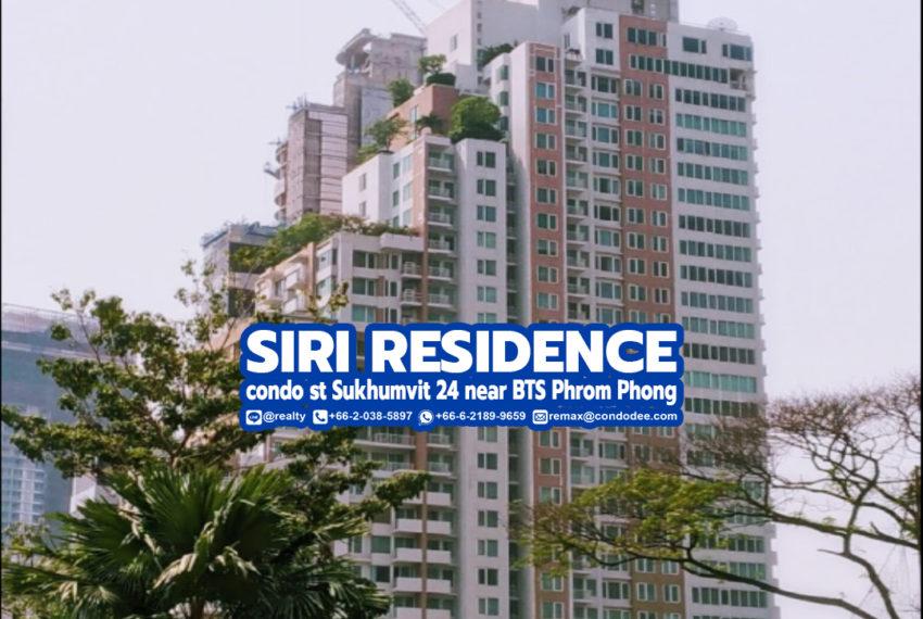 Siri Residence - REMAX CondoDee