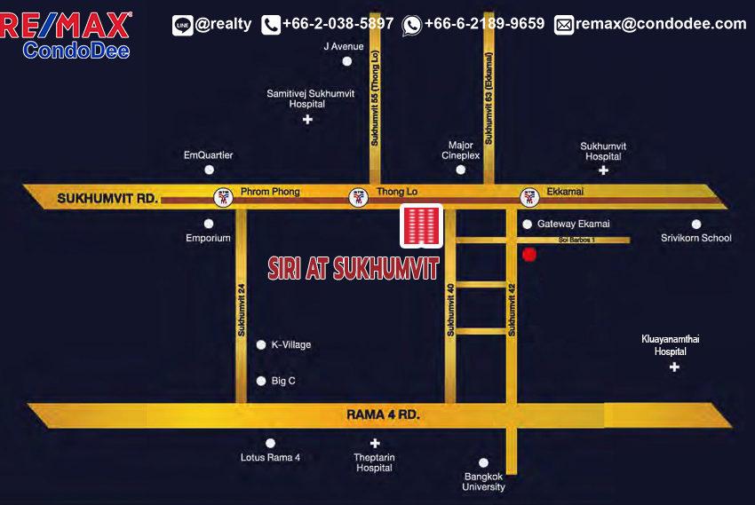 Siri at Sukhumvit - map