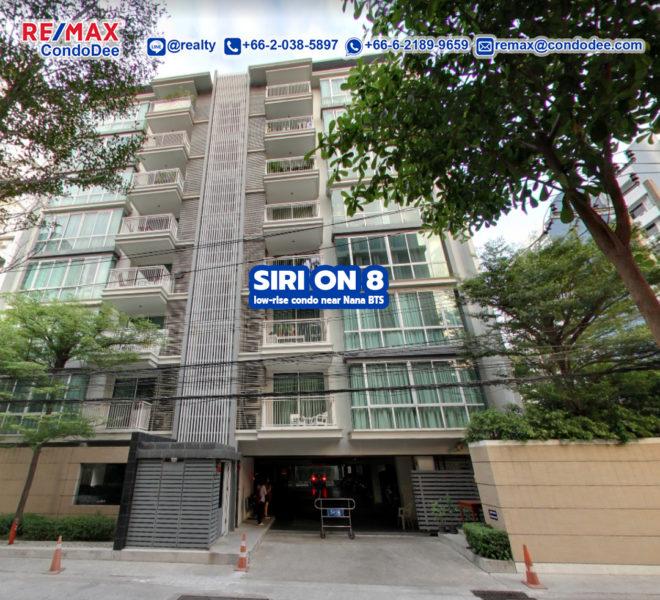 Siri On 8 Condominium Near Nana BTS by Sansiri