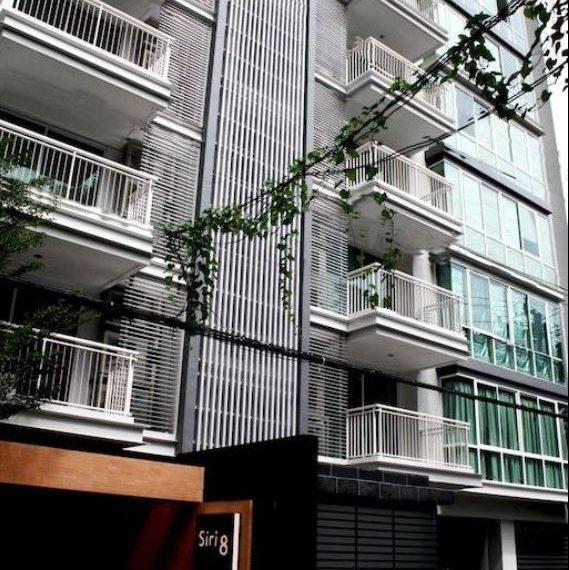 Siri on 8 condominium - bldg