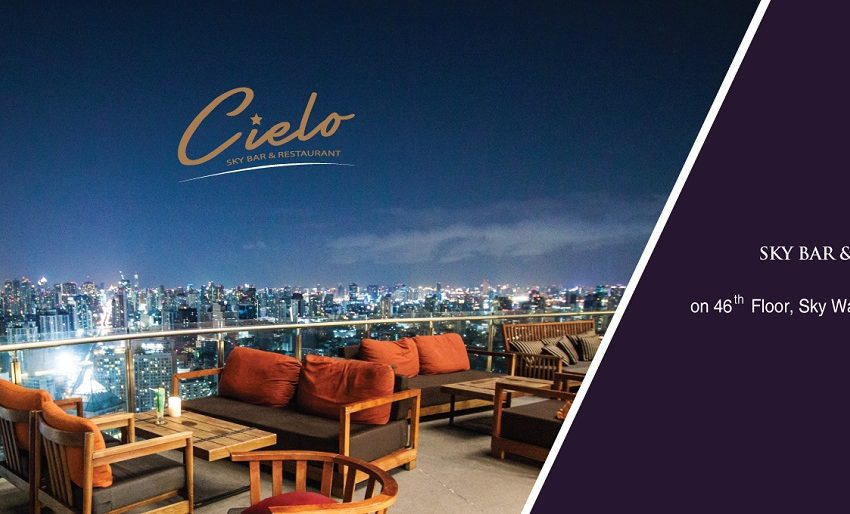 Sky Walk Condo Sukhumvit Bangkok near BTS - bar and restaurant Cielo
