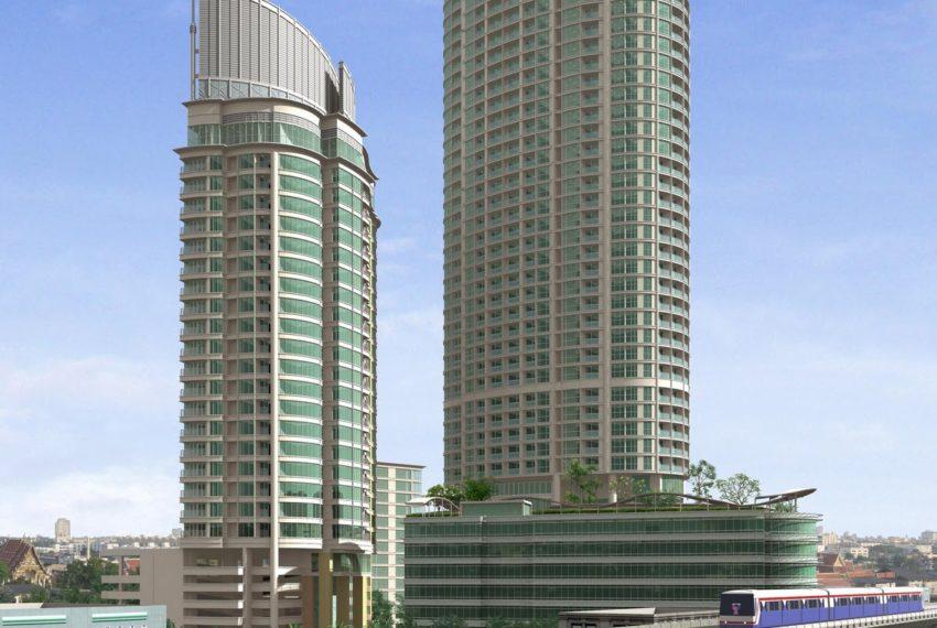 Sky Walk Condo Sukhumvit Bangkok near BTS - building03