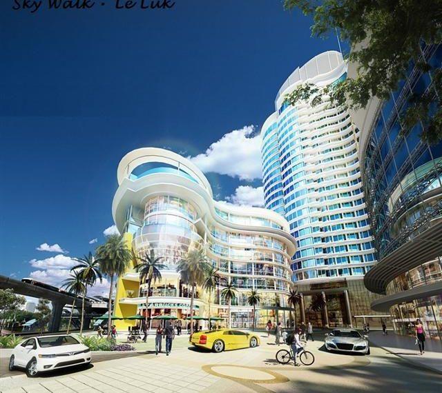 Skywalk.building.shoppingcomplexcity