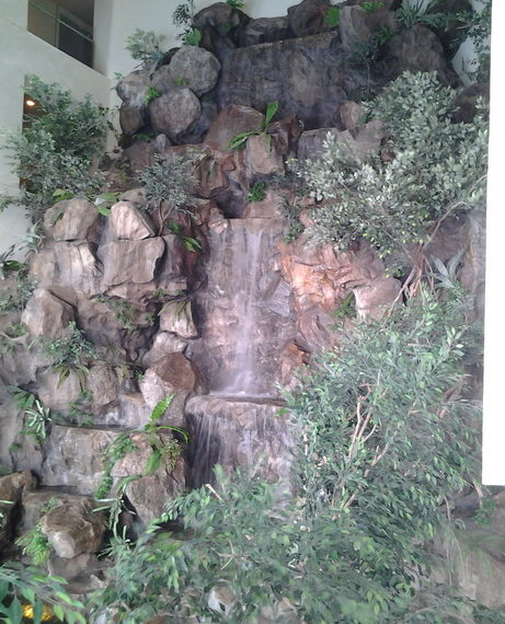 Skywalk.waterfall