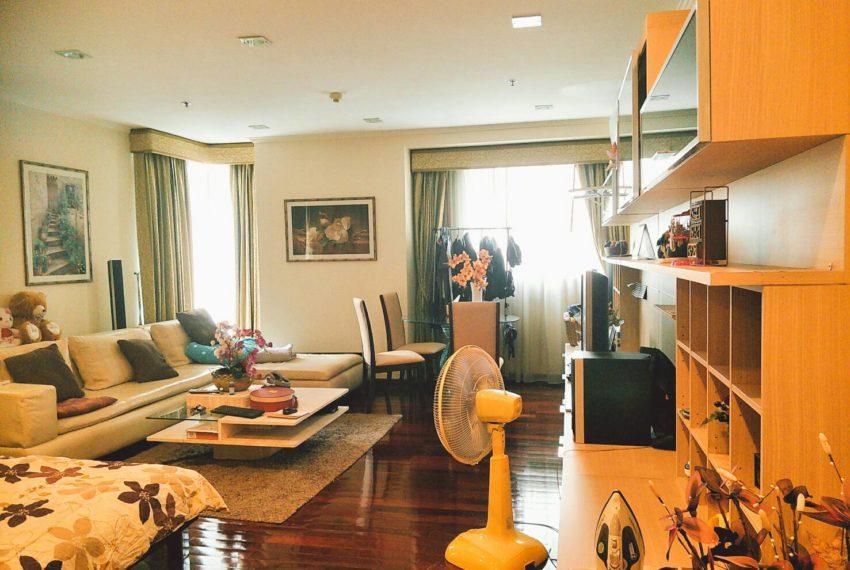 Sukhumviliving roomt City Resort Studio -