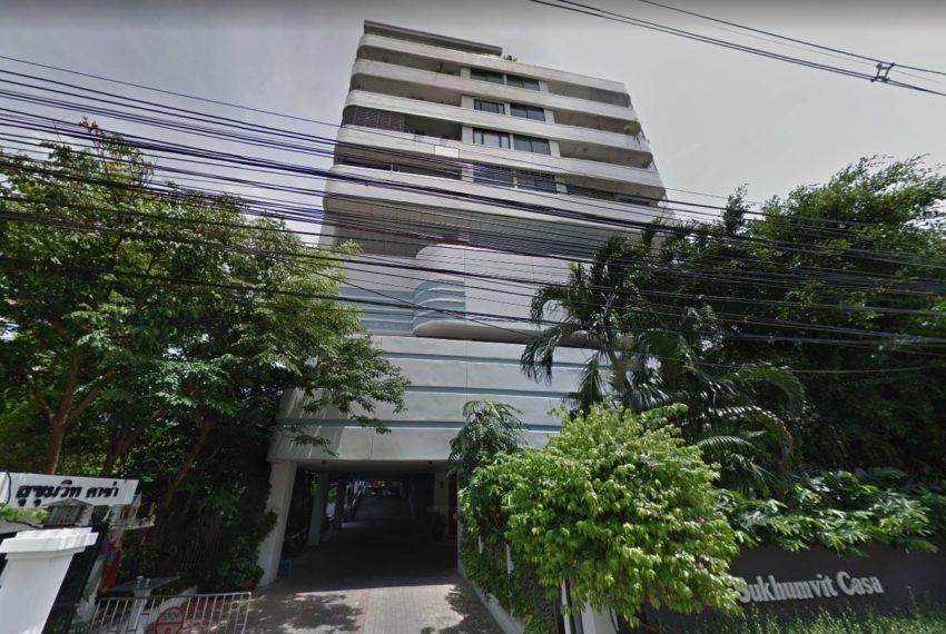 Sukhumvit Casa condo - building