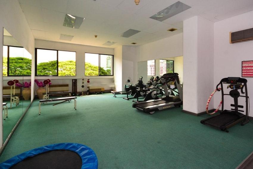 Sukhumvit Casa condo - fitness