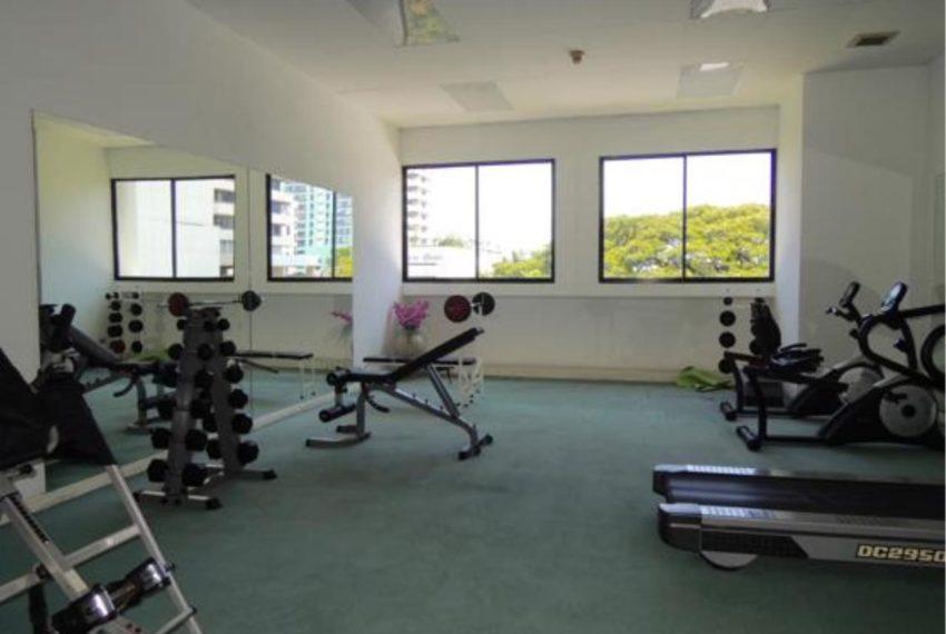Sukhumvit Casa condo - gym