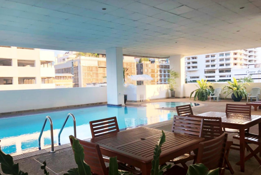 Sukhumvit Casa condo - pool