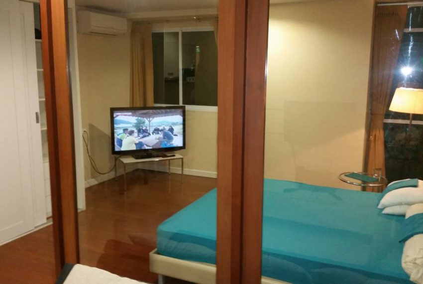 Sukhumvit City Resort 1 bedroom sale - bed