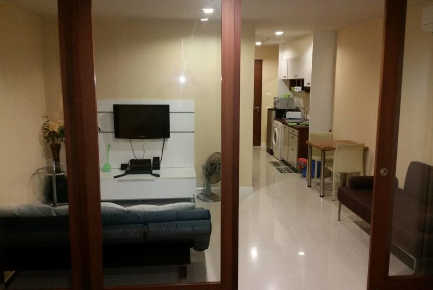 Sukhumvit City Resort 1 bedroom sale - flat TV