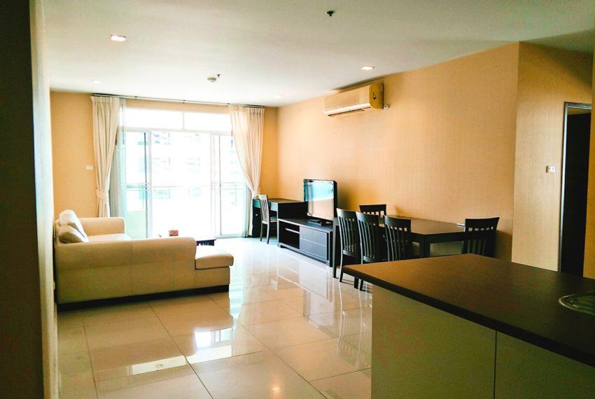 Sukhumvit City Resort - 2b2b - sale - living room