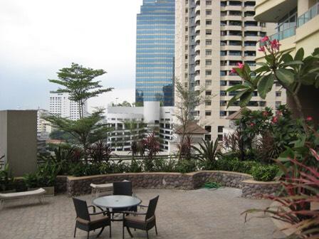Sukhumvit City Resort _For rent _2 beds 2 baths - Common area