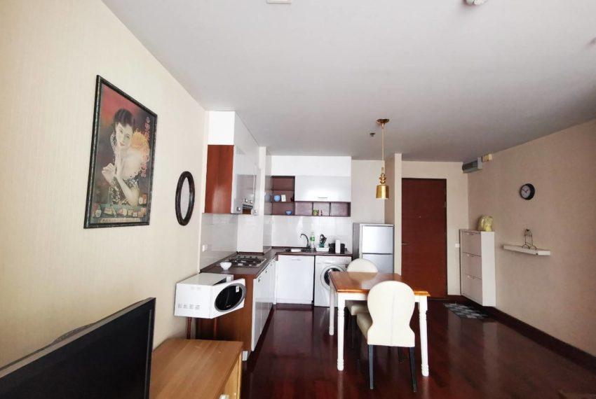 Sukhumvit City Resort _For rent _2 beds 2 baths - Living room 2