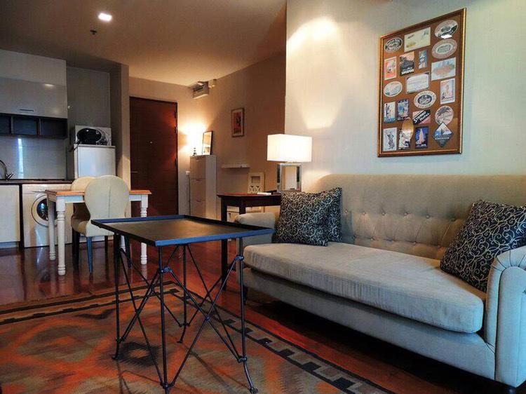 Sukhumvit City Resort _For rent _2 beds 2 baths - Living room