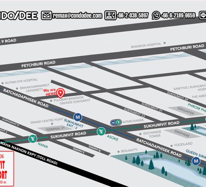 Sukhumvit City Resort condo - map